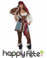 Costume de capitaine pirate pour femme, image 1
