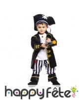 Costume de capitaine pirate pour tout petit