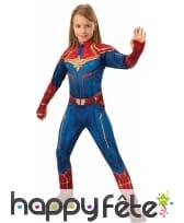Costume de Captain Marvel pour fille, image 1