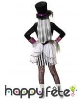 Costume de chapelier fou type halloween pour fille, image 2