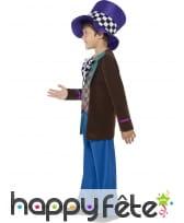 Costume de chapelier pour enfant garçon, image 2