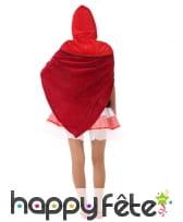 Costume de chaperon rouge pour ado, image 2