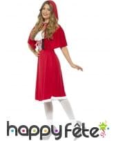 Costume de chaperon rouge pour femme adulte, image 1