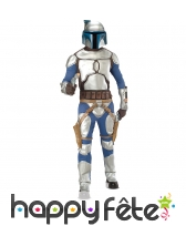 Costume de chasseur de prime Star Wars, luxe
