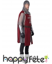 Costume de chevalier médiéval pour homme, image 2