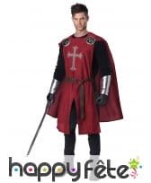 Costume de chevalier médiéval pour homme