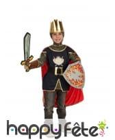 Costume de chevalier pour enfant et accessoires