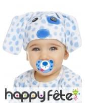 Costume de chiot bleu pour bébé, luxe, image 1