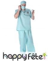 Costume de chirurgien pour adulte