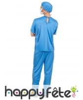 Costume de chirurgien pour homme, image 2