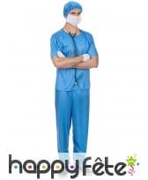 Costume de chirurgien pour homme