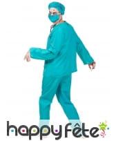 Costume de chirurgien zombie pour adulte, image 2