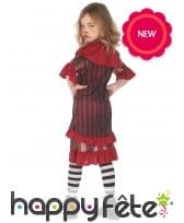 Costume de clown d'Halloween pour fille, image 2