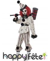 Costume de clown hanté pour enfant, image 1