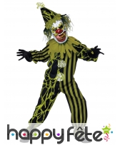 Costume de clown plein de morve pour enfant