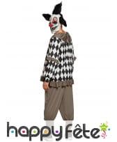 Costume de clown psychopathe ensanglanté, homme, image 1