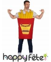 Costume de Cornet de Frites