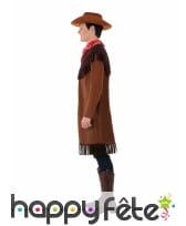 Costume de cowboy pour ado, marron, image 1