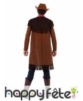 Costume de cowboy pour ado, marron, image 2