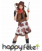 Costume de cowgirl vachette pour fillette, image 1