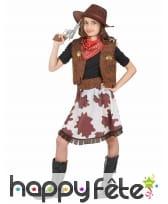 Costume de cowgirl vachette pour fillette, image 2