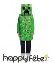 Costume de Creeper pour enfant, Minecraft, image 1