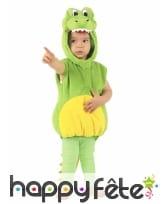 Costume de crocodile vert pour enfant, rembourré, image 4