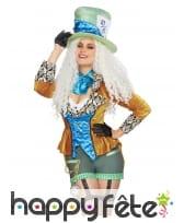 Costume du chapelier fou pour femme, luxe, image 2