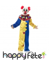 Costume du Clown pour enfant, chair de poule