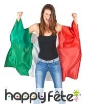 Cape drapeaux d'Italie