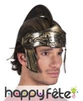 Casque doré de centurion pour homme