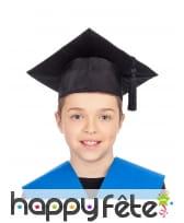 Chapeau de diplômé pour enfant