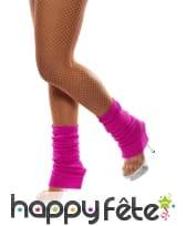 Chaussettes de danse fluo couleur fushia