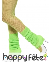 Chaussettes de danse vert fluo