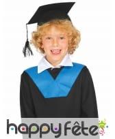 Coiffe de diplômé pour enfant