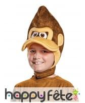 Coiffe de Donkey Kong pour enfant