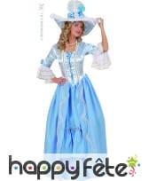 Costume Dame de la cour bleue