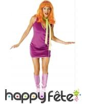 Costume de Daphné Licence Scoobydoo
