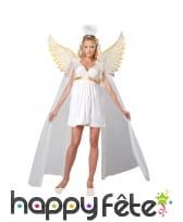 Costume de déesse ange blanc