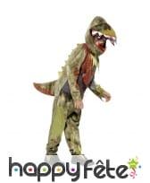 Costume de dinosaure zombie pour enfant