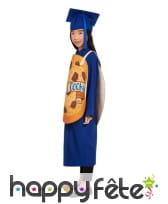 Costume de diplômé bleu Smart cookie, image 1