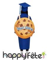 Costume de diplômé bleu Smart cookie, image 2