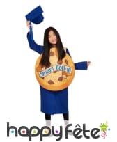 Costume de diplômé bleu Smart cookie, image 3