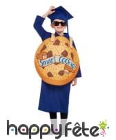 Costume de diplômé bleu Smart cookie, image 4