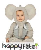 Combinaison d'éléphant pour bébé