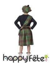 Costume d'écossais vert pour enfant, image 1