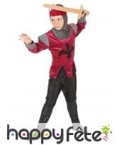Costume d'enfant chevalier médiéval, image 2