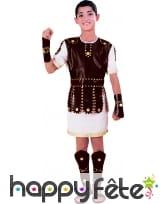 Costume d'enfant gladiateur