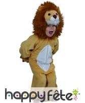 Costume d'enfant lion