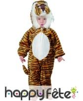 Costume d'enfant tigre